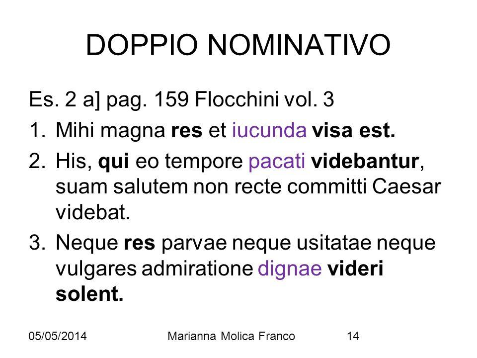 DOPPIO NOMINATIVO Es. 2 a] pag. 159 Flocchini vol. 3